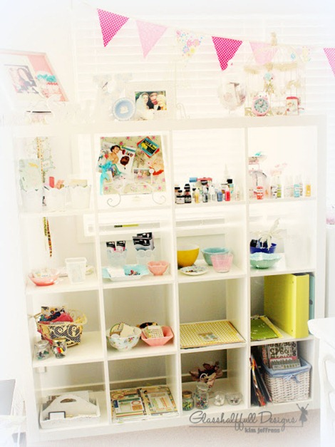 embellishment shelving