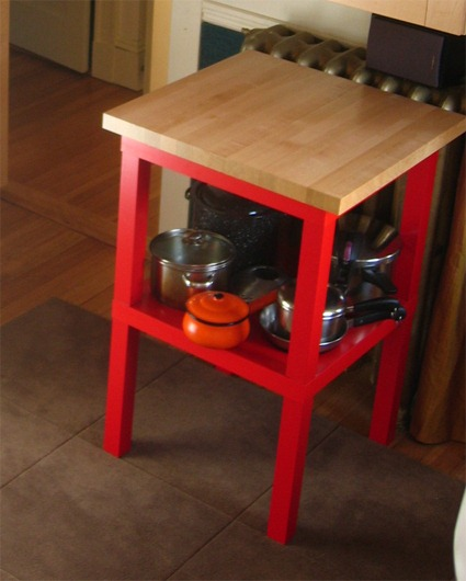 Ikea lack table hacks 12 inspiring diy projects - Mesa auxiliar malm ikea ...