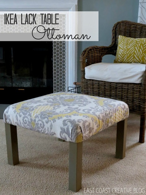 ikea lack diy table ottoman