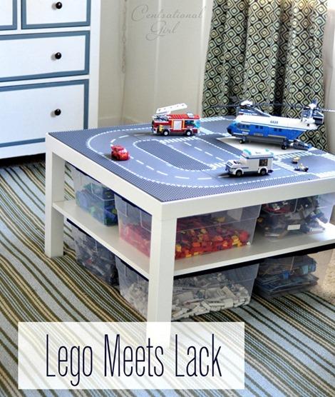ikea lack table to lego table