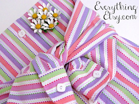 simple packaging ideas ~ re-purposed wrapping ~ EverythingEtsy.com