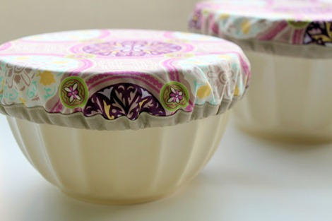 simple sewing pattern - pot luck bowl cover
