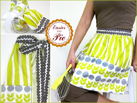 simple sewing tutorials - apron