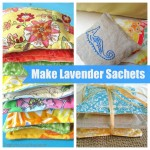 How to Make Lavender Sachets {Tutorial}