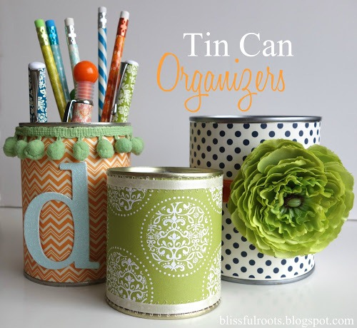 diy crafts with tin cans 7 simple diy projects for your craft room