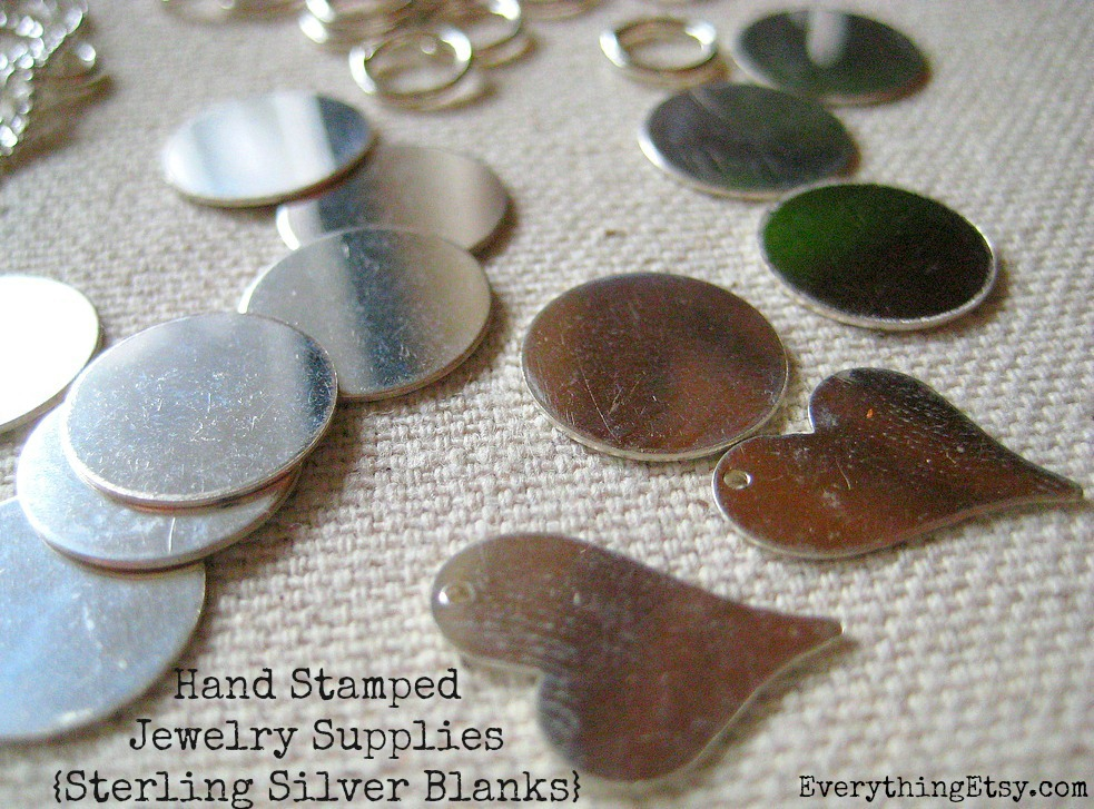 hand stamped necklace tutorial diy gift
