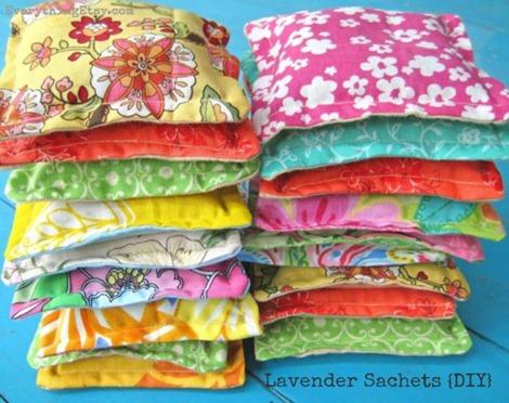 Lavender Sachets - Make them!