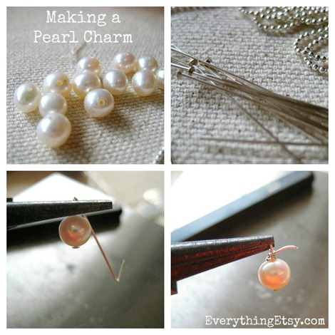 Making a Pearl Charm