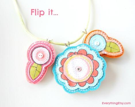 Simple Necklace DIY - Resversible