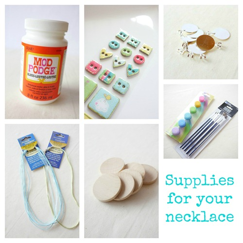 Teachers Gift Necklace Supplies from @everythingetsy