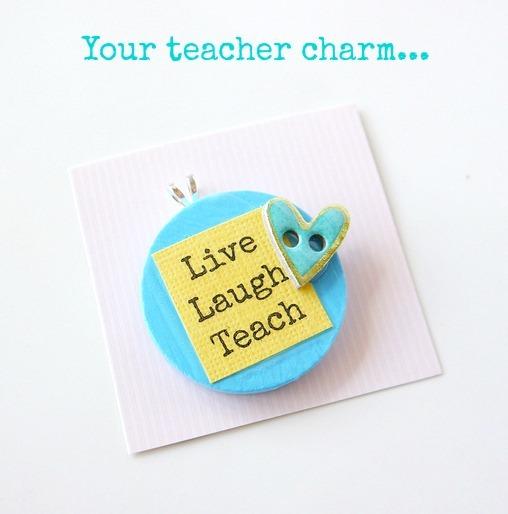 diy necklace teacher appreciation gift