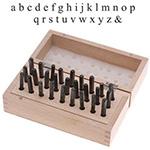 Metal Stamping Letter Kit - Typewriter Font Lowercase