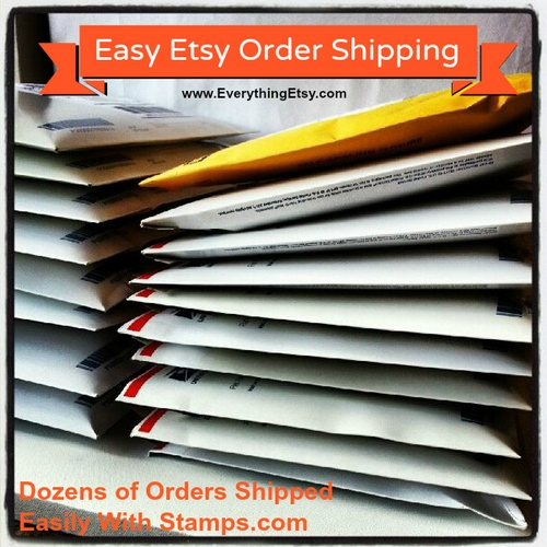 Easy Etsy Shipping