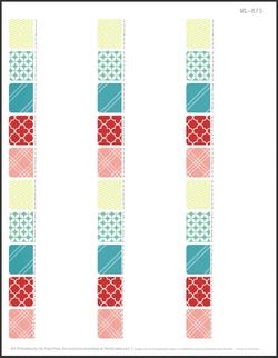 2.625 x 1 Free Printable Labels - 30 per sheet