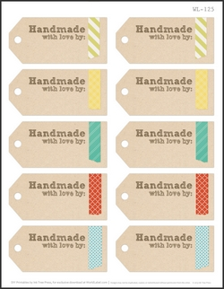 how to make fabric labels for handmade items