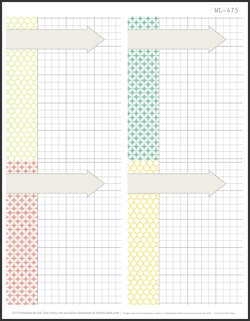 4x5 Free Printable -- 4 per sheet