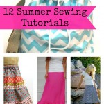 12 Simple Sewing Patterns for Summer