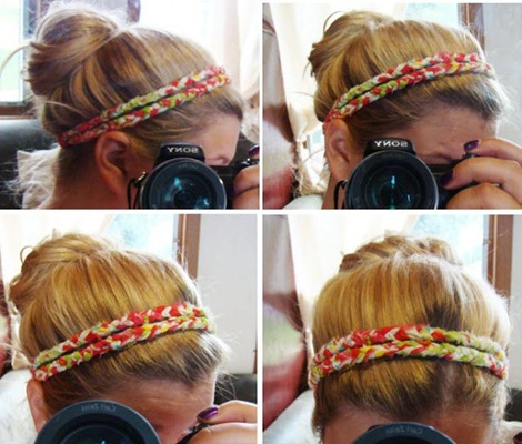 Find and save ideas about Fabric headbands on Pinterest. | See more ideas about Headband tutorial, Head bands and Hair bands. Braided Fabric Headbands ~ Whimsical World Of Laura Bird Braided fabric and elastic headband to use up scraps. Maybe consider sewing up the edges first to combat all the fray that's happening in these pics.