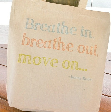Breathe In Tote Bag - HandmadeandCraft on Etsy