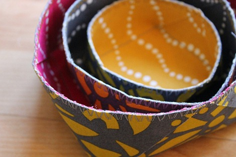 Craft Room Organization - Nesting Boxes