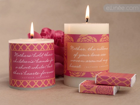 DIY Candles for Mother's Day