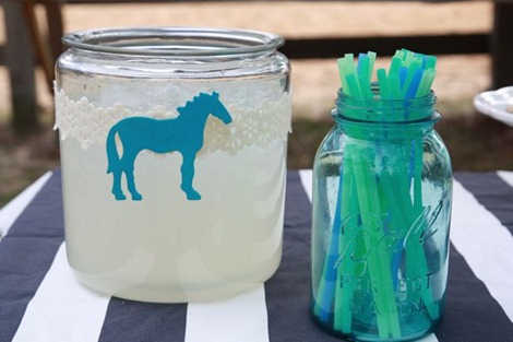 DIY Kentucky Derby Party Punch Bowl