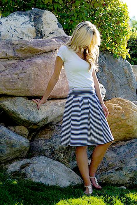 DIY Summer Skirt