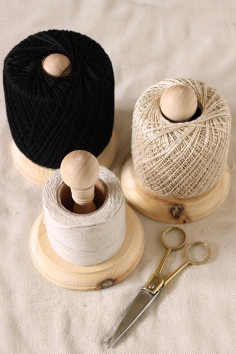DIY Twine Holder - Craft Room Organization
