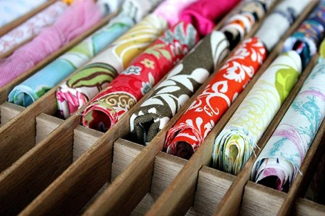 Fabric Scrap Storage
