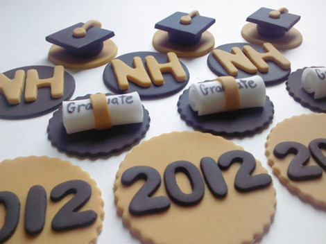 Graduation cupcake toppers - Etsy