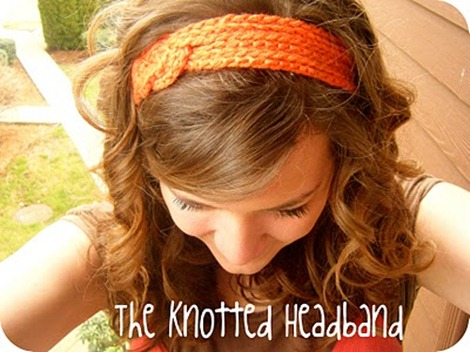 Knotted Headband - Summer Hair Accessories