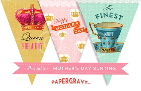 Mother's Day Bunting - Etsy