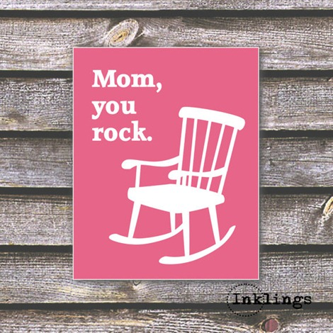 Mother's Day Printable - You Rock