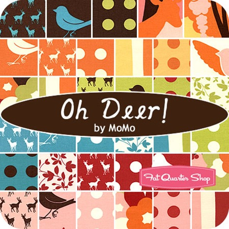 Oh Deer quilting fabric - Fat Quarter Shop