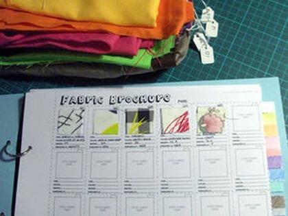 Organized Fabric Ideas