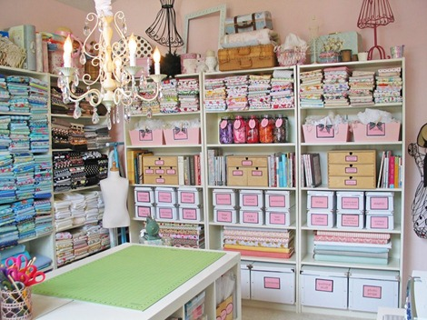 Sewing Studio Ideas and Inspiration