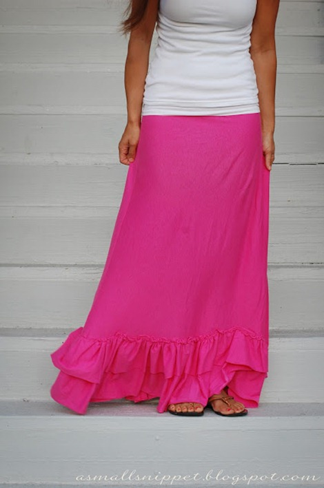 Summer Maxi Dress Tutorial