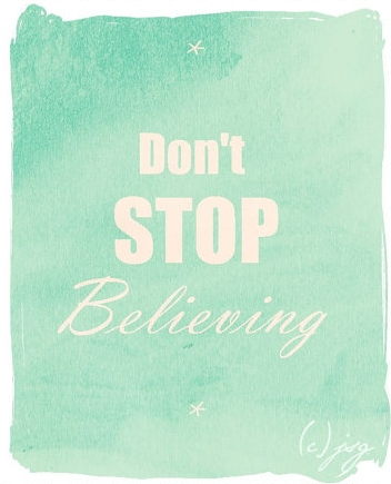 Don't Believing by JoyfulSongGraphics on Etsy