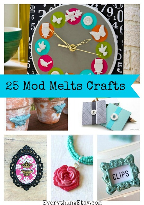 25 Mod Melts Crafts {DIY Gifts}