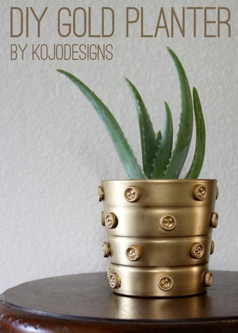 DIY Planter with Mod Melts