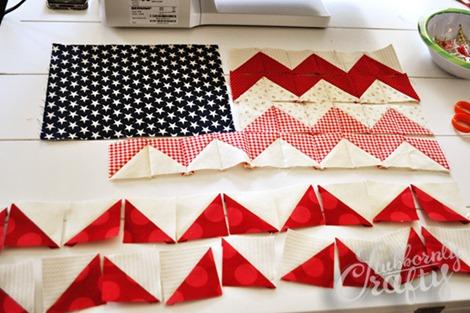 Flag Pillow Tutorial 4