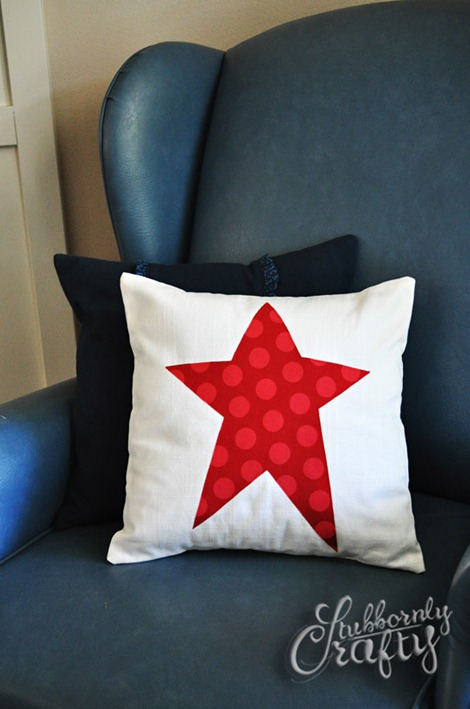 Flag Pillow Tutorial 7
