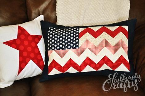 Flag Pillow Tutorial