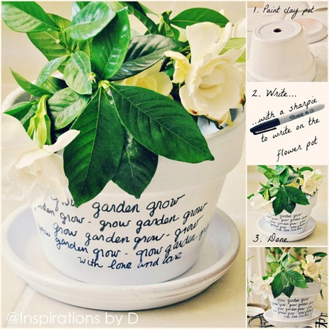 Flower Pot DIY