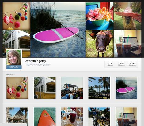 Instagram - Everything Etsy