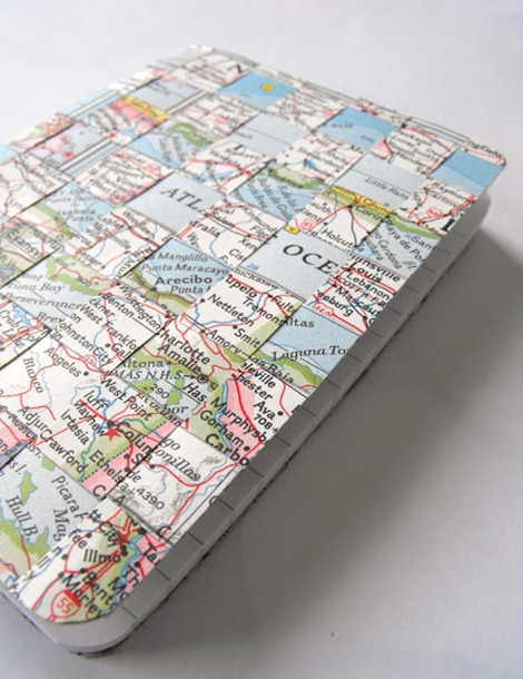 Map Notebook - Travel Craft