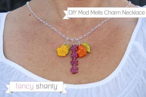 Mod Melts Charm Necklace