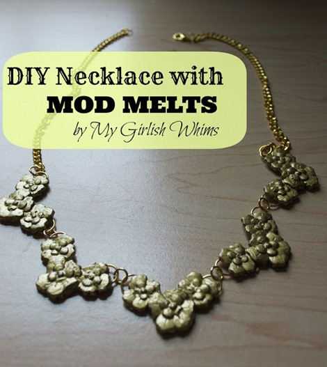 Necklace with Mod Melts