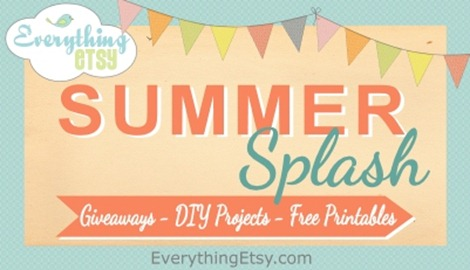 Summer Splash on Everything Etsy