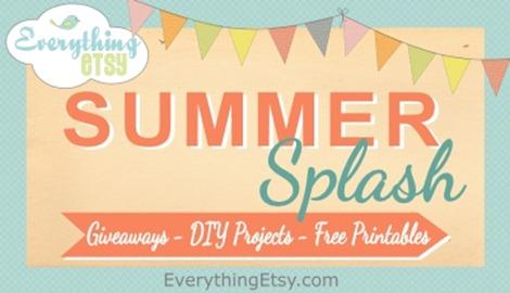 Summer Splash on Everything Etsy